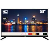 "Smart TV LED 58"" HQ HQSTV58NY Ultra HD 4K Netflix Youtube 2 HDMI 2 USB Wi-Fi -"