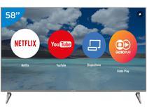 """Smart TV LED 58"""" Panasonic 4K/Ultra HD Viera - TC-58EX750B Conversor Digital 4 HDMI 3 USB"""