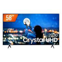 "Smart TV LED 58"" UHD 4K Samsung 58TU7000 Crystal UHD 2 HDMI 1 USB Wi-Fi -"