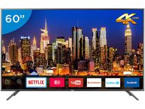 "Smart TV LED 60"" Philco 4K/Ultra HD - PTV60F90DSWN Conversor Digital Wi-Fi 3 HDMI"