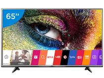 "Smart TV LED 65"" LG 4K Ultra HD 65UH6150 - Conversor Digital 3 HDMI 1 USB Wi-Fi"
