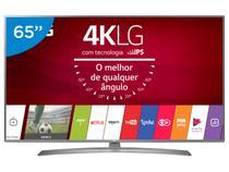 "Smart TV LED 65"" LG 4K/Ultra HD 65UJ6585 WebOS - Conversor Digital Wi-Fi 2 4 HDMI 2 USB"