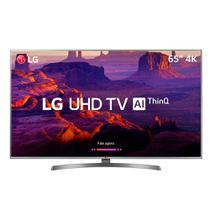 "Smart TV LED 65"" LG 65UK651C, 4K Ultra HD, Wi-Fi, 120 Hz, 2 USB, 4 HDMI, Conversor Digital e IPS -"