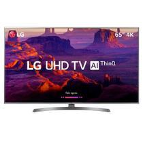 """Smart TV LED 65"""" LG 65UK6540PSB 4K Ultra HD com Wi-Fi, 2 USB, 4 HDMI, DTV, Time Machine e Painel IPS -"""