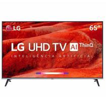 """Smart TV LED 65"""" LG 65UM7520, UHD 4K, ThinQ AI, WebOS 4.5, Quad Core, HDR Ativo, 2 USB, 4 HDMI -"""