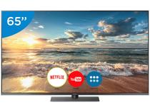 "Smart TV LED 65"" Panasonic 4K/Ultra HD - TC-65FX800B Conversor Digital Wi-Fi 4 HDMI 3 USB"