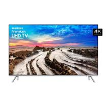 Smart TV LED 65 Polegadas Samsung 65MU7000 Smart Tizen 4 HDMI 3USB 4K - Samsung audio e video