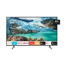 Smart TV LED 65 Polegadas Samsung UN65RU7100GXZD Ultra HD 4K Conversor Digital 3 HDMI 2 USB Wi-Fi Bluetooth