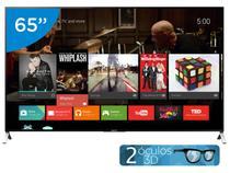 "Smart TV LED 65"" Sony 4k/Ultra HD 3D XBR-65X905C - Conversor Digital Óculos Wi-Fi 4 HDMI"