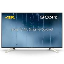 "Smart TV LED 65"" Sony 65X755F, UHD 4K, X-Reality Pro, Wifi, USB, HDMI, Motionflow XR240, X-Protectio -"