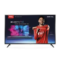 Smart TV LED 65 TCL P65US Ultra HD 4K HDR Netiflix Wi-Fi Integrado Entradas HDMI e USB