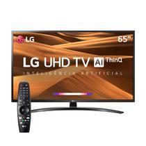 "Smart TV LED 65"" UHD 4K LG 65UM7470PSA ThinQ AI , WebOS 4.5,  Bluetooth -"