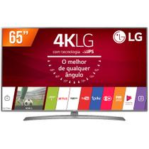 Smart TV LED 65 Ultra HD 4K LG 65UJ6585 HDMI USB Wi-Fi Conversor Digital Integrado