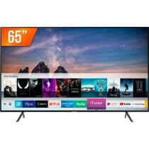 Smart TV LED 65'' Ultra HD 4K Samsung RU7100 3 HDMI 2 USB Wi-Fi