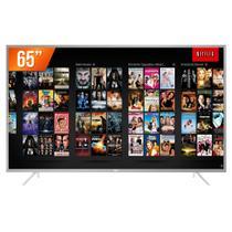 "Smart TV LED 65"" Ultra HD 4K TCL 65P2US 3 HDMI 2 USB Wi-Fi Integrado Conversor Digital -"