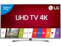"Smart TV LED 70"" LG 4K/Ultra HD 70UJ6585 WebOS - Conversor Digital Wi-Fi 4 HDMI 2 USB Bluetooth HDR"