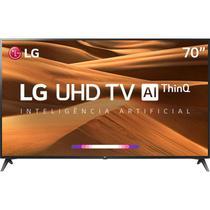 "Smart TV LED 70"" UHD 4K LG 70UM7370PSA ThinQ AI HDR Ativo WebOS 4.5 DTS Virtual X -"