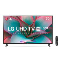 "Smart TV LED 70"" UHD 4K LG 70UN7310 Bluetooth, Wi-Fi, HDR, Inteligência Artificial ThinQ AI, Controle Smart Magic, Googl -"