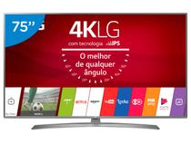 "Smart TV LED 75"" LG 4K/Ultra HD 75UJ6585 WebOs - Conversor Digital Wi-Fi 4 HDMI 2 USB"