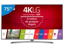 "Smart TV LED 75"" LG 4K/Ultra HD 75UJ6585 WebOs - Conversor Digital Wi-Fi 4 HDMI 2 USB"