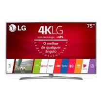 """Smart TV LED 75"""" LG 75UJ6585, 4K Ultra HD HDR, Wi-Fi, 120Hz, USB, HDMI, IPS -"""