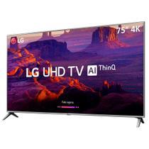 """Smart TV LED 75"""" LG 75UK651C 4K Ultra HD com Wi-Fi, 60 Hz, 2 USB, 4 HDMI, Conversor Digital e IPS -"""