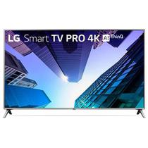 Smart TV LED 75 Pol UHD 4K LG, Conversor Digital, 4 HDMI, 2 USB, Bluetooth, Wi-Fi, ThinQ AI - 75UK65 - Lg eletronics
