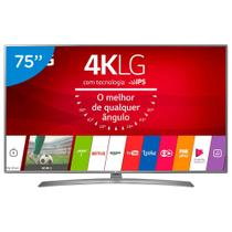 Smart TV LED 75 Polegadas LG 75UJ6585 Ultra HD 4K Wifi com Conversor Digital -