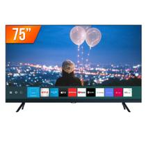 "Smart TV LED 75"" Ultra HD 4K Samsung 75TU8000 Crystal 3 HDMI 2 USB -"