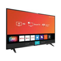 Smart TV Led AOC 32 Polegadas Wi-Fi Entrada HDMI USB -