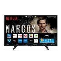 Smart Tv Led Aoc 43 Polegadas Le43s5970s Full HD Wi-Fi 2 USB 3 Hdmi -