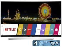 """Smart TV LED Curva 4K Ultra HD 3D 55"""" LG 55UG8700  - Conversor Integrado 4 HDMI 3 USB Wi-Fi"""