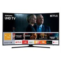 Smart TV LED Curva 55 Ultra HD 4K Samsung 55MU6300 com Conversor Digital 3 HDMI 2 USB Wi-Fi Integr