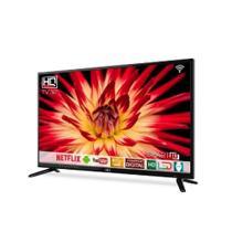 """Smart Tv Led HQ HD 32"""" HQSTV32NY - Bivolt -"""