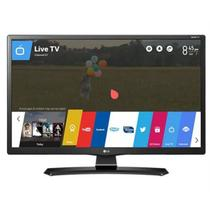 Smart TV LED LG 24 HD 24MT49S-PS Conversor Digital Wi-Fi integrado USB 2 HDMI WebOS 3.5 Screen Sha