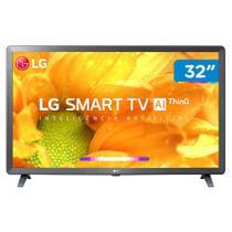 "Smart TV LED LG 32LM625B 32"" Wi-Fi Bluetooth HDR Inteligência Artificial 3 HDMI 2 USB -"