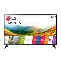 "Smart TV LED LG 43"" LG 43LJ5500  Full HD, com Wi-Fi, 1 USB, 2 HDMI, DTV, Painel IPS, Time Machine Ready - Elgin calculos"