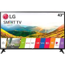 Smart TV LED LG 43 Polegadas Full HD HDMI WebOs com Conversor Digital 43LJ5500 - Lg Som Imagem