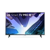 """Smart TV LED LG 43"""" ThinqAI Full HD - 43LM631C0SB -"""