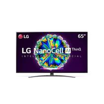 Smart TV LED LG 65 UHD 4K 65NANO81S NanoCell Bluetooth HDR Inteligência Artificial ThinQ AI -