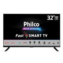Smart TV LED Philco 32 Polegadas HD PTV32G70SBL Quad Core -