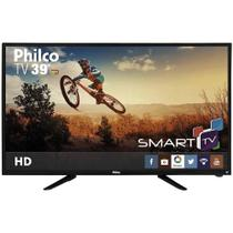 "Smart TV Led Philco 39"" PH39N86DSGW Ginga, Wireless, HDMI, USB, Receptor DTV"
