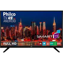 "Smart TV LED Philco 49"" PH49F30DSGWA Android, Full HD, HDMI, USB, Wi-Fi, Conversor Digital -"