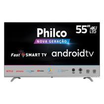 Smart TV LED Philco 55 Polegadas 4K UHD PTV55Q20AGBLS -