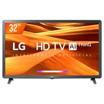 Smart TV LED PRO 32'' HD LG 32LM 621 3 HDMI 2 USB Wi-fi Conversor Digital