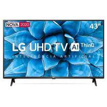 "Smart TV LG 43"" 4K UHD 43UN7300 WiFi Bluetooth HDR Inteligência Artificial ThinQAI Google Alexa -"