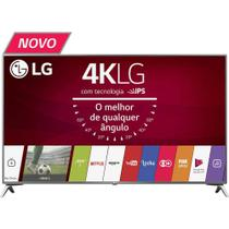 "Smart TV LG 43"" Ultra HD 4K 43UJ6525 com Conversor Digital 4 HDMI 2 USB WebOS 3.5 Wi-Fi Integrado"