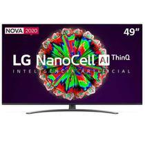 "Smart TV LG 49"" 4K IPS NanoCell 49NANO81 WiFi Bluetooth HDR Inteligência Artificial ThinQAI Google Alexa -"