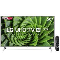 "Smart TV LG 50"" 4K UHD WiFi Bluetooth HDR AI Cinza -"