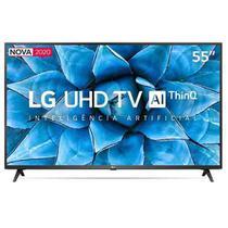 "Smart TV LG 55"" 4K UHD 55UN7310 WiFi Bluetooth HDR Inteligência Artificial ThinQ Smart Magic Google Alexa -"